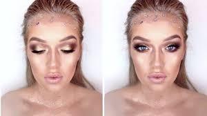 glittery gold greek goddess fairy makeup tutorial youtube