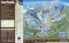 Map Of Area Codes Sun Peaks Resort Skimap Org
