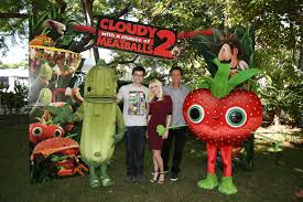 2013 cloudy with a chance of meatballs 2 movie wallpapers cloudy with a chance of meatballs 2 interview co directors cody