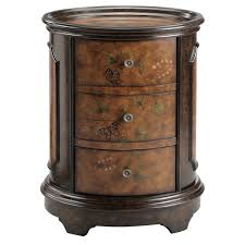 3 drawer accent table autumn oval 3 drawer accent chest free shipping today overstock