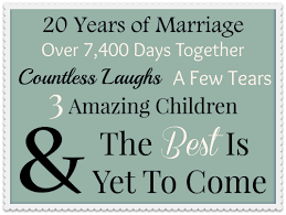 20 year wedding anniversary ideas happy 20th anniversary to my special 20 reasons why i