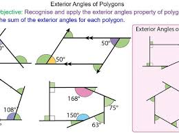 exterior angles of polygons by mr mathematics teaching resources