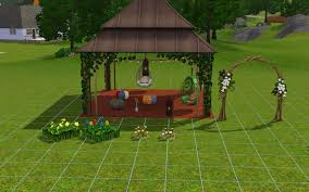 wedding arches sims 3 aznsensei s sims 3 store bohemian garden store set review