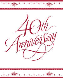 40th anniversary plates 103 best wedding anniversary party images on