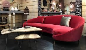 boutique de canapé tendance déco le canapé arrondi style kagan le déco de mlc