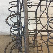 vintage iron wine rack u2013 urbanamericana