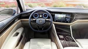 volkswagen concept interior volkswagen t prime concept gte signals big vw suv with premium