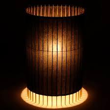 Japanese Floor Lamp Floor Standing Lamp Contemporary Japanese Paper Wooden Kel