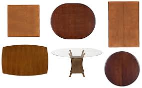 shaped dining table the shape of dining tables helps to balance aesthetics and