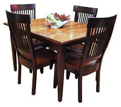 Shaker Style Dining Table And Chairs Shaker Style Plymouth Table Ohio Hardword Upholstered Furniture