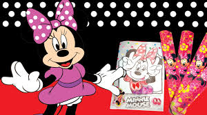 minnie mouse coloring book libro colorear pulceras