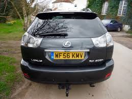 lexus rx 400h technical specifications used lexus rx 400h suv 3 3 se l cvt 5dr in bracknell berkshire