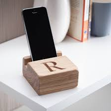 Phone Charging Stand by Phone Charging Stand And Dock By House Of Carvings