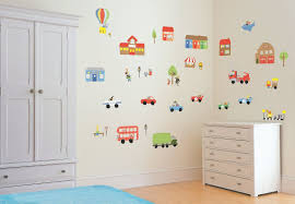 Beautiful Panting Murala With Kid Theme Ideas In White Wall Paint
