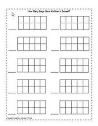 printable tens frame cards math ideas pinterest ten frames