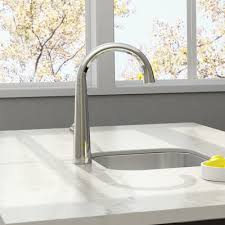 american standard edgewater pull down kitchen faucet with select