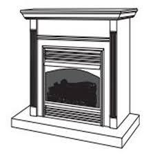 Desa Ventless Fireplace - vtgf33pra desa vent free gas fireplace system