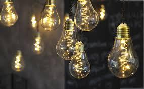 le glã hbirnen design led lichterkette glühbirne aus glas retro design 10 tlg warm weiß