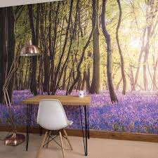 bluebell woods self adhesive wallpaper mural oakdenedesigns com bluebell woods self adhesive wallpaper mural oakdene designs 2