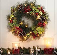 15 beautiful outdoor wreaths front door decor