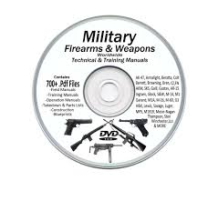 military manuals 700 rifle pistol machine gun weapons bonus