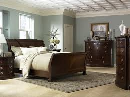 wall colors for bedrooms with dark furniture at home interior