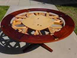 round expandable dining table u2013 home design ideas expandable