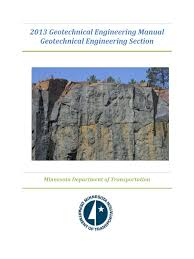 the geotechnical manual 2013 final geotechnical engineering