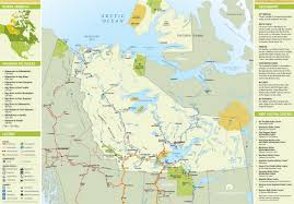 Trans America Trail Map by Northwest Territories Tourist Map