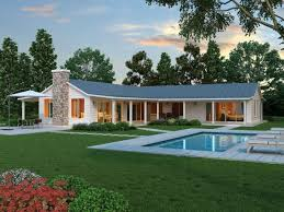 glamorous single level house plans with wrap around porches images