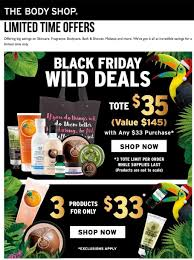 black friday 2017 black friday the body shop black friday 2017 ads deals and sales