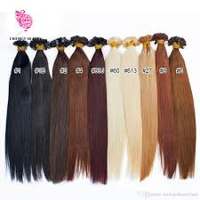 Natural Virgin Hair Extensions by Cheap 16 U0027 U0027to 30 Natural Virgin Hair Keratin Flat Tip Hair