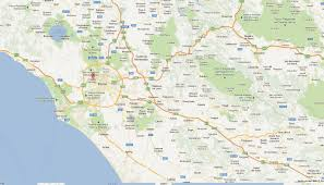 Italy City Map by Vatican Map