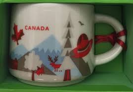 mug ornament you are here ornament canada starbucks mugs