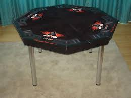 folding poker tables for sale how to build a good looking octagon poker table on the cheap