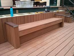 nothing beats built in deck bench seating tribune content agency