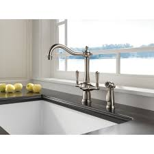 brizo faucets kitchen faucet 62136lf pn in brilliance polished nickel by brizo