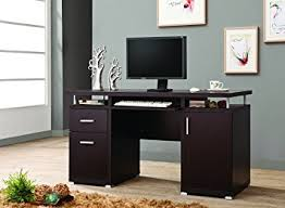 Computer Desk Amazon by Amazon Com Coaster Home Furnishings 800107 Contemporary Computer