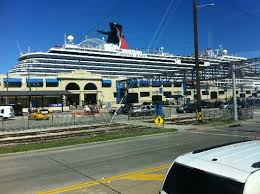 convenient and secure parking facilities for the cruise ship