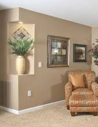recessed wall niche for display i can see putting a