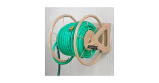 wall mount garden hose reel metal home design ideas and pictures