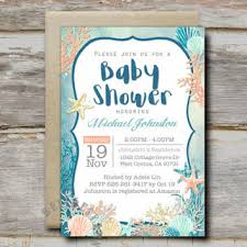 the sea baby shower invitations theme baby shower invitations oxyline f094184fbe37