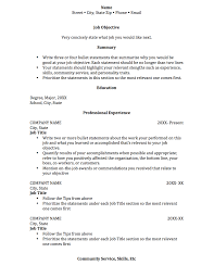 whats a good objective for a resume chronological resume college of social and behavioral sciences chronological resume outline
