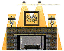fireplace mantel lighting ideas fireplace design and ideas