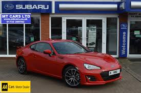 car subaru brz used 2017 subaru brz i se lux for sale in cambridgeshire pistonheads
