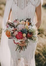 wedding flowers tucson trend alert 20 gorgeous protea bouquets