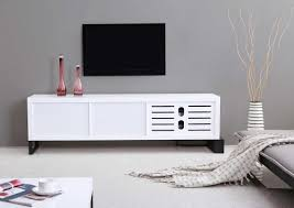 extra long modern white tv stand bm 36 tv stands