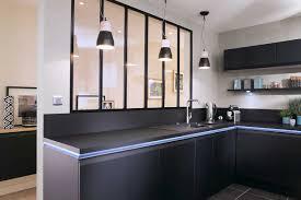 Cuisine Porte Effet Touch Galerie Avec Cuisine Noir Cuisine Mat Galerie Et Une Cuisine Design Fenix Noir Avec