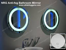 Bathroom Shower Mirror Anti Fog Mirror Nrgmirrordefoggers