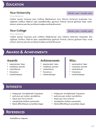 6 simple resume template open office job and resume template